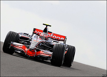 Kovalainen is fastest in the second session