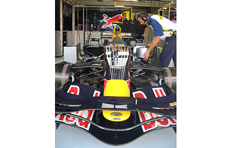 Red Bull Grand Prix car