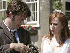 David Tennant and Catherine Tate