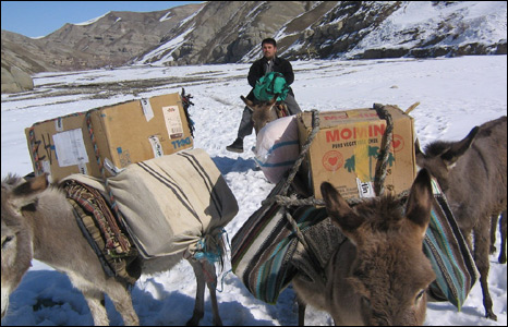 Delivery of supplies to Badakhshan