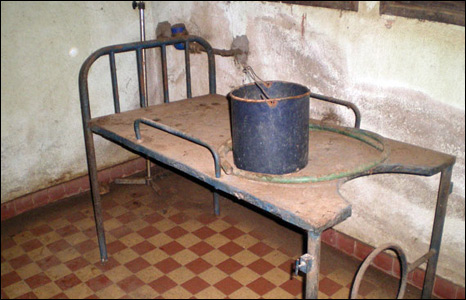 Delivery room in Central African Republic