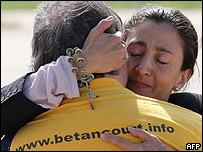 Ingrid Betancourt.