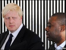 Boris Johnson and Ray Lewis