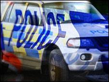 Police tape/car