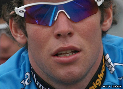 British cyclist Mark Cavendish
