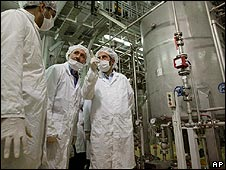 Iranian nuclear facility at Isfahan. File photo