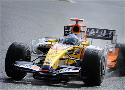 Renault's Fernando Alonso