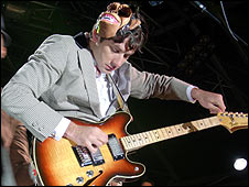 Mark Ronson at the Zoo8 Festival