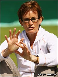 LTA performance director Judy Murray