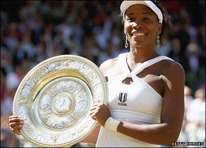 Venus with the trophy 