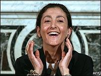 Ingrid Betancourt, AFP