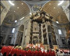 St Peter's Basilica. File pic