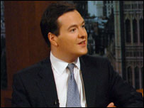 George Osborne MP ...photo by Jeff Overs BBC
