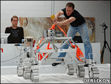 Rover testbed (Oerlikon)
