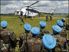 Indian UN peacekeepers in DR Congo - 16/5/2008