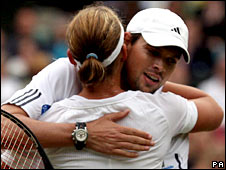 Samantha Stosur and Bob Bryan