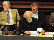 Dr Rowan Williams at the Synod