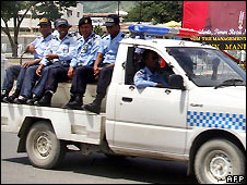 East Timorese police - April 2008 file photo