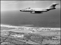 US Air Force RF-101 reconnaissance plane