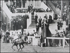 The winner of the last ever race at Hurst Park racecourse in Surrey