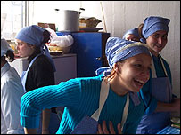 """Un taller de """"Madrinas por la vida""""."""