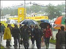 Crowds at the Royal Welsh Show