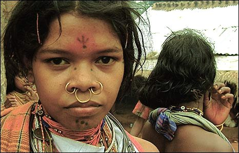 Dhongria Kondh girl