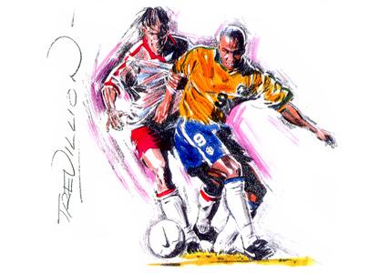 Ronaldo by Paul Trevillion