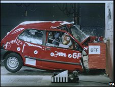 Car crash test