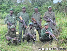 The ranger patrol (Wildlife Direct)