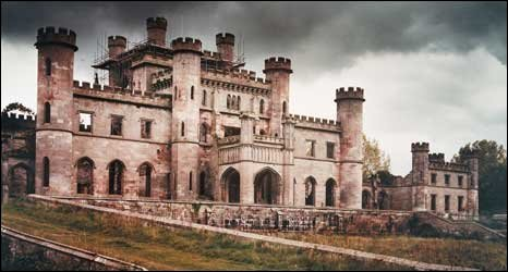 Lowther Castle. Photo by Boris Baggs, copyright English Heritage.