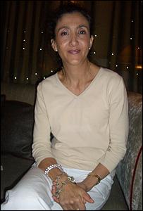Ingrid Betancourt durante su entrevista con la BBC.