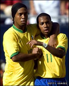 Ronaldinho and Robinho