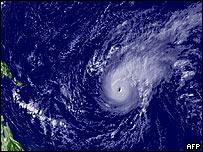 Bertha en el Océano Atlántico el 7 de julio