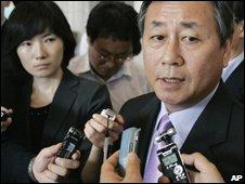 South Korea's nuclear envoy Kim Sook, in Seoul 08/07