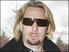 Nickelback singer Chad Kroeger