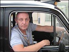 London cab driver Steve McNamara