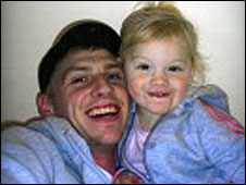 Adam Chadwick and daughter Ruby