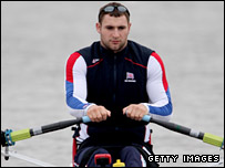 Paralympic rower Tom Aggar