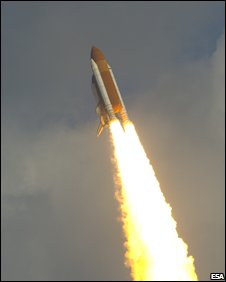 Shuttle launch (Esa)