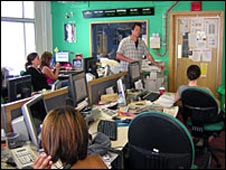 After the bulletin, editor Toby talks to the team