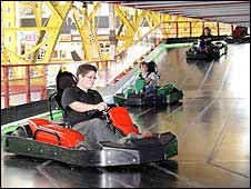 Go-kart circuit at WSM Grand Pier