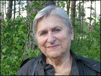 Fania Brantsovskaya, former anti-Nazi partisan fighter