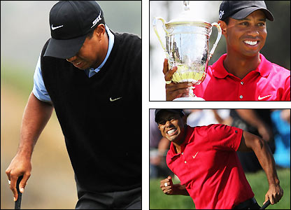 Tiger Wood ignored knee pain to win the 2008 US Open at Torrey Pines