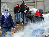 Protesta estudiantil en junio 2008 (Foto: Archivo)