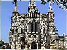 The West Front of Salisbury Cathedral