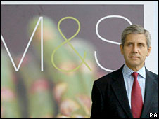 M&S chief Sir Stuart Rose