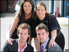 Finalists in The Apprentice. Bullet-proof confidence a must