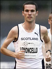 British athlete Andrew Lemoncello