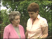 Thea and daughter Frances
